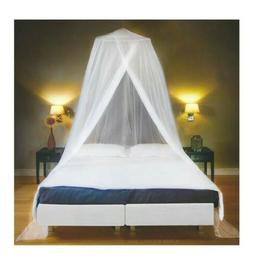 Luxury Bed Canopy Mosquito Net Mesh White Ultra Large King Q
