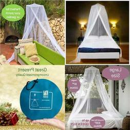 Luxury Mosquito Net Bed Canopy LARGE For Single To Queen Siz