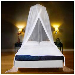 Luxury Mosquito Net Bed Canopy Large Single Queen Size Quick