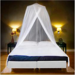 Luxury Mosquito Net Bed Canopy Ultra Large For Single To Kin