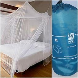 EVEN NATURALS Luxury Mosquito Net for Bed Canopy, 2 Person F