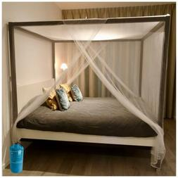 EVEN NATURALS Luxury Mosquito Net for Bed Canopy, Extra Larg