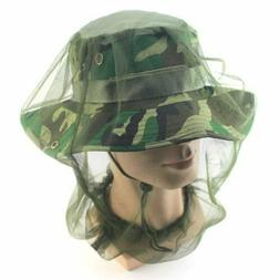 Midge Mosquito Insect Hat Bug Mesh Head Net Face Protector T