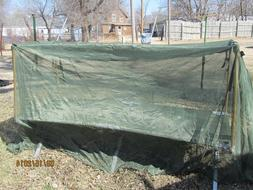 MILITARY INSECT MOSQUITO NET BAR FIELD NETTING COT COVER GRE
