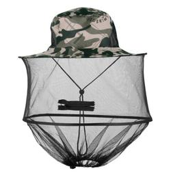 Mosquito Bug Bee Insect Repellent Mesh Net Hat/Cap Head Face