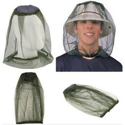 Mosquito Hat Net Head Face Protector Bee Bug Mesh Insect Fis