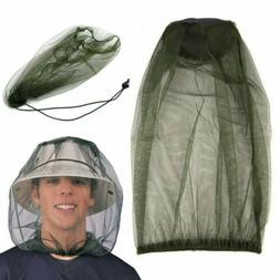 mosquito head net breathable sunshade face shield