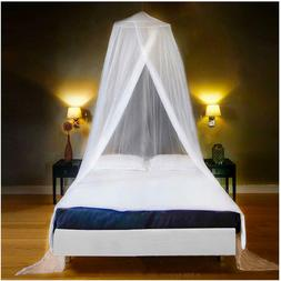 Mosquito Net Bed Canopy Single To Queen Size 2 Entries w/ St