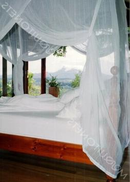 MOSQUITO NET BED CANOPY | FULL Size Bed Net | Easy Care mach