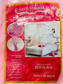 Mosquito Net Bed Netting Tent Hanging Bedding Lace Canopy Cu