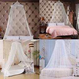 Mosquito Net Bed Queen Size Home Bedding Lace Canopy Princes