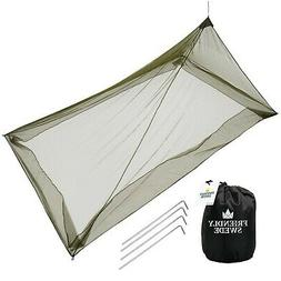 The Friendly Swede Mosquito Net Canopy for Single Camping Be