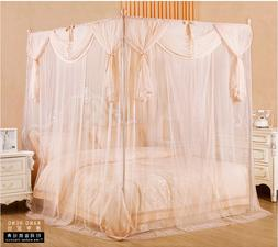 Mosquito net Encryption upset bed nets lace head bed curtain