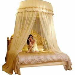Mosquito Net Girl Room Decor Curtain Double Lace Hung Done R