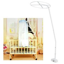 Mosquito Net Holder for Drape Canopy Stand Clip-On Ring Clam