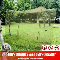 Mosquito Net Large Indoor Outdoor Camping Insect Netting Cov