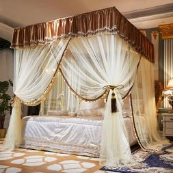 Mosquito net Luxury wedding bed canopy dust proof mosquito n