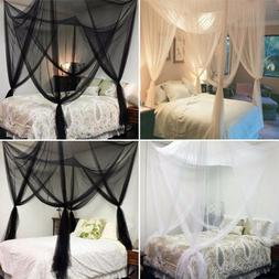 Mosquito Net Summer With Mosquito With Awning For Size Bed C