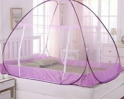 Mosquito Net Two Door Adults Double Bed Folding Netting Tent