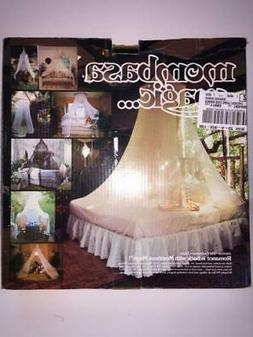 Mosquito Netting Net Bed Canopy MCM Retro Boho Hippie Chic T