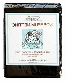 """Mosquito noseeum netting/net 54"""" wide x 10 yards long, color"""