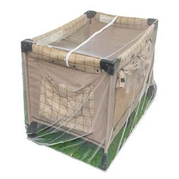 Pack n Play Mosquito Net with Zippers - Fits Baby Crib, Stro