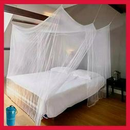 Naturals Luxury Mosquito Net for Bed Canopy, Tent for Single
