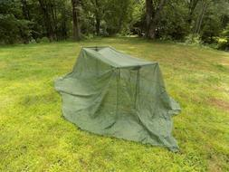 NEW Military Mosquito Bug Bar Net Netting Cover Canopy Campi