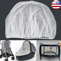 NEW Universal Baby Stroller Mosquito Insect Net Cover Fit Pr