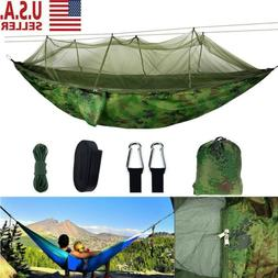 Outdoor Camping Mosquito Net Hammock Tent Nylon Hanging Bed