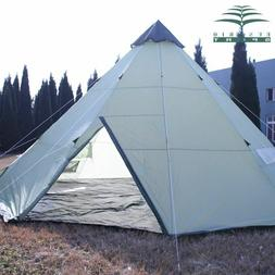 Outdoor Large Camping Tent 10 Persons Waterproof Indian Sing