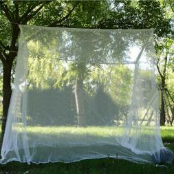 Outdoor Mosquito Net Double Size Canopy 4 Post-Bed-Travel-Ac
