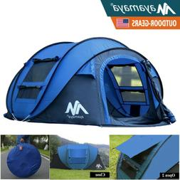 Outdoor Pop Up Tent Automatic Instant Portable Dome Camping