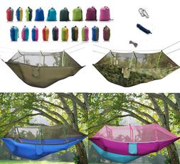 outdoor portable camping mosquito net travel hammock
