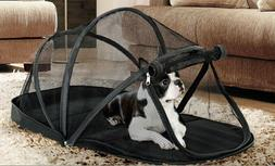 Pet Crate Net Tent Kennel Foldable Pet Mosquito Net  Puppy w