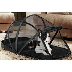Pet Crate Net Tent Kennel Foldable Pet Puppy with Mosquito N
