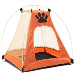 Pet Dog Cat Bed Houses Nest Puppy Cage Folding Tent Mosquito