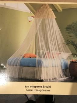 Pier 1 One Imports Island Mosquito Net Indoor Outdoor Mousti