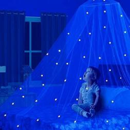 Play Tent Fairy Lights Light Stars Large Mosquito Net Bed Ca