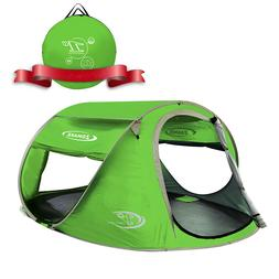 Pop Up Tent 4 Person, Beach Tent Sun Shelter Automatic and I