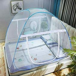 PopUp Mosquito Net Tent for Beds Anti Mosquito Bites Folding