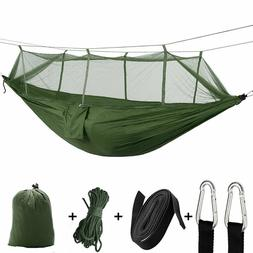 Portable Camping Hammock With Mosquito Net By Sirius Surviva