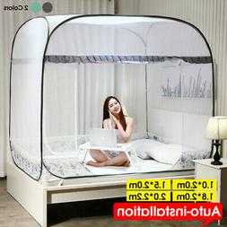 Portable Folding Mesh Insect Bed Canopy Dome Tent Mosquito N
