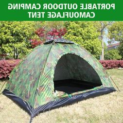 Portable Outdoor Camping Camouflage Tent Outdoor Camping Rec