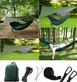 Portable Outdoor Camping Hammock Tent with Mosquito Net Swin