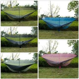 Portable Outdoor Camping Hiking Mosquito Net+Hook for Double