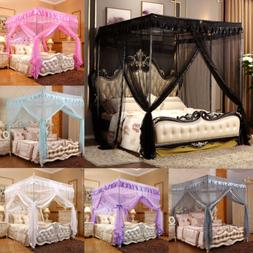 Princess Bed Canopy Curtain Mosquito Net Or Frame Post Twin