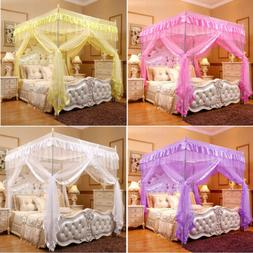 Princess Bed Canopy Mosquito Net Or Bed Frame Post Twin Full