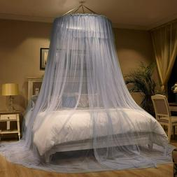 Mengersi Princess Bed Canopy Round Dome Bed Curtains Mosquit