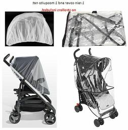 Rain Cover Mosquito Net Set Covers Protector for CHICCO Kid